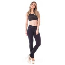 Calça Jeans Feminina Cigarrete Basic Média Skinny - Super St