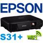 Proyector Epson S31+ 3200 Lum S18 Wifi+bolso 12 Cuotas S/int