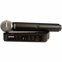 Microfono Inalambrico De Mano Uhf Shure Blx24 Sm58