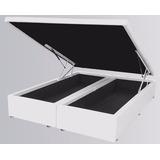 Cama Box Baú Bipartido Casal 188 X138 X 40 Direto Da Fabrica