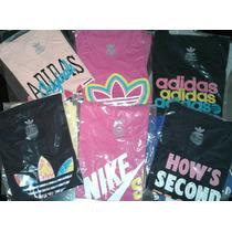 Park De 3 Remeras De Dama Adidas Y Nike (a Eleccion)