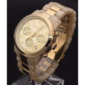 9885ec5d58d Pulseira Para Relógio Michael Kors Original Madre - Joias e Relógios ...