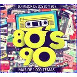 Musica De Los 80 Y 90 (mas De 1.100 Exitos) Envío Gratis