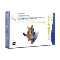 Revolution Gatos 2,5 A 7,5 Kg- 3 Pipetas