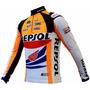 Camisa Ciclismo Manga Longa Ert Repsol (p-m-g-gg-3g)