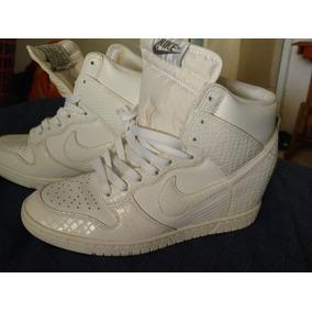 Tenía Nike Botines Blancos De Mujer