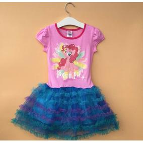 Vestido My Little Pony - Frozen, Pinky Pie, Rainbow Dash