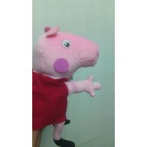 Peppa Pig Muñeco Guiñol Didactico Cerdita