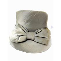 Figura Antiguo Sombrero Para Dama De Tela