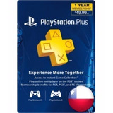 Psn Plus 12 Meses Region Chile - Caja Vecina