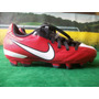 Zapatos De Futbol Nike Jr.t90 Medida 20 1/2 Nuevos Original