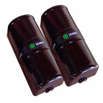 Sensor Barreira Ativa Externa 2 Feixes Infravermelho 100mts