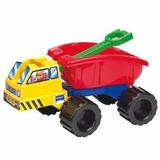 Camion Volcador Pala Con Caja 3085 Rondi Juguetes Arrastre
