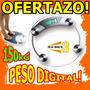 Wow Peso Cristal Digital Hasta 150kg Pesate Rebaja Dietas