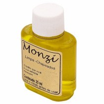 Limpa Chapeado Monzi 35ml - Original + Flanela Magica