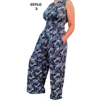 Vestido Pantalón Dama Mujer Enterizo Ropa Moda Elegante