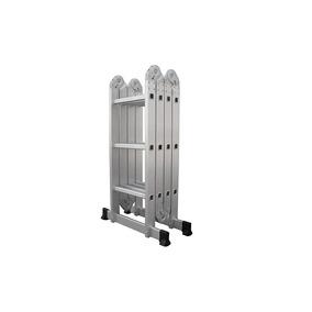 Escalera Articulada Plegable Multiposiciones Aluminio 3.5mts