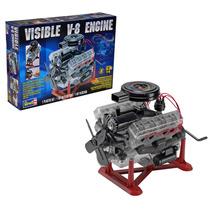 Kit Para Montar Visible Engine V8 Miniatura Motor 1/4 Revell