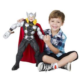 Boneco Gigante Thor Marvel Avengers 55cm Premium Mimo 463
