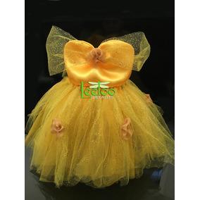 Disfraz Bebe Tutu Niña Princesa Bella O Blanca Nieves