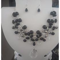 Collares De Moda En Cristal Bisuteria Pulseras Aretes Perlas