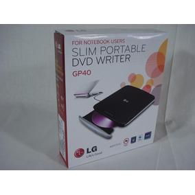 Quemador Y Lector Portatil (usb) De Cd Y Dvd, Lg Gp40(nuevo)