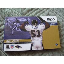 2003 Flipp Booklet Ray Lewis Hit & Interception Plays