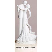 Topo De Bolo Para Casamento Noivinhos Porcelana