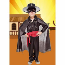 Disfraz De El Zorro Con Capa Y Sombrero Candela