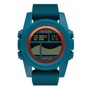 Relógio Masculino Nixon Unit Tide Azul