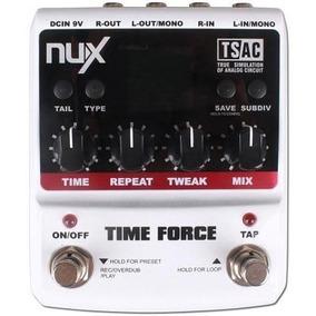Pedal Delay Nux Time Force - Pronta Entrega - Frete Grátis!