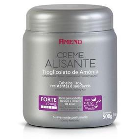 Creme Alisante Tioglicolato De Amônia Forte 500g Amend