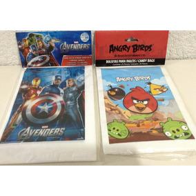 25 Bolsitas Dulceras Originales Angry Birds Avengers Dora