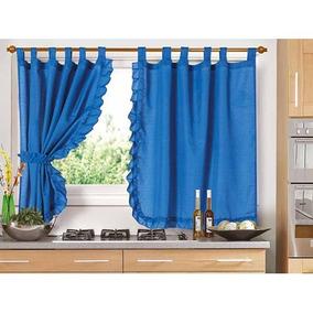 cortinas cortas cocina