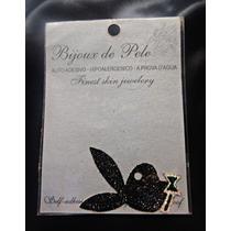 Bijoux De Pele - Kit Playboy, Rosa, Borboletas