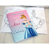 Livro Livrinho A6 Para Colorir Personalizado