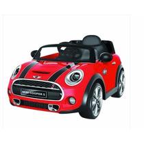 Carrito Carro Montable Electrico Mini Cooper Control Remoto
