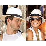 Chapéu Estilo Panamá Modelo Social Clásico - Unisex