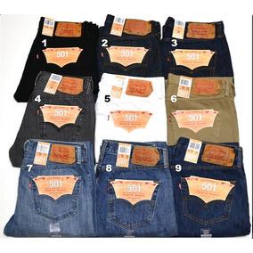 Jeans Levis 501 Tallas 28 A La 44 14 Onzas Prelavados