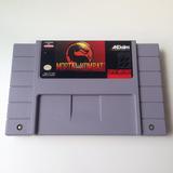 Fita Mortal Kombat 1 Original - Super Nintendo - Snes