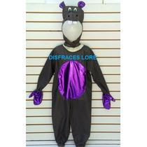 Disfraz Hipopotamo Mariposa Rana Tortuga Tiburon Pez Pulpo