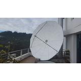 Antena Satelital Parabolica.