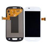 Pantalla Lcd Touch+digitalizador Galaxy S3 Mini I8190 Blanco