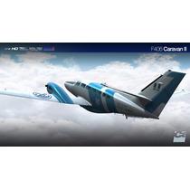 Aeronave F406 Caravan Ii Poara Fsx
