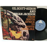Lp Gil Scott-heron From South Africa 1975 Soul Jazz Black
