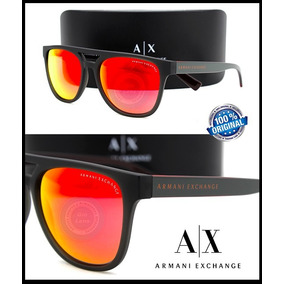 Gafas Armani Exchange Ax4032-81426q Black Mica Orange Mirror