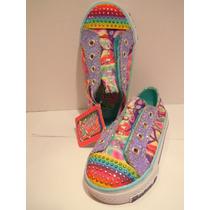 Zapatillas Skechers Bebe Traida Usa - Nueva = Talla 7-14cm