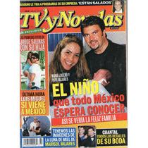 Lucero Y Mijares En Portada De Tv Y Novelas 2001