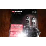 Combo Telefonos Motorola Inalambricos Digital Fox 1000-b