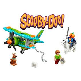 Pacote Minifiguras Scooby Doo + Avião Compatível Lego